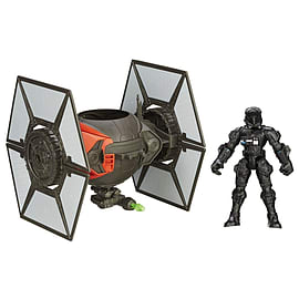 First Order Special Forces Tie Fighter and Pilot - Hero Mashers - Star Wars The Force Awakens Figurines and Sets