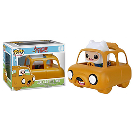 Jake Car With Finn - Adventure Time - POP! Rides Vinyl Figure - Funko Figurines and Sets