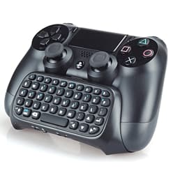 Reytid PS4 2.4G Mini Wireless Keyboard ChatPad - Controller Gaming Message Keypad PS4