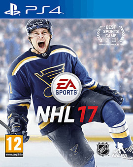 NHL 17 PS4 Cover Art