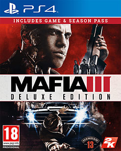 Mafia III Deluxe Edition PS4 Cover Art