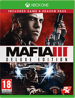 Mafia III Deluxe Edition XBOX ONE Cover Art