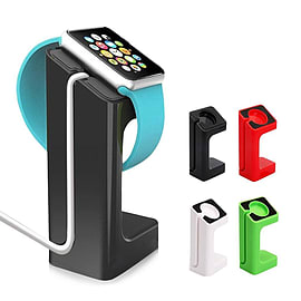 Frostycow Premium Docking Station Charger Stand For Apple Watch iWatch 38mm & 42mm Black Mobile phones