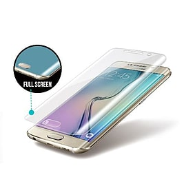 Frostycow Premium Fully Invisible Curved Screen Protector For Samsung Galaxy S6 EDGE PLUS + Mobile phones