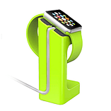 Frostycow Premium Docking Station Charger Stand For Apple Watch iWatch 38mm & 42mm Green screen shot 1