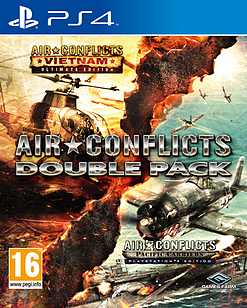 Air Conflicts Double Pack PS4 Cover Art