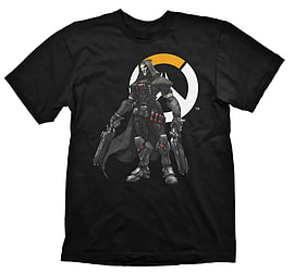 Overwatch Reaper Logo T-Shirt - S Clothing