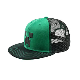Minecraft Creeper Face Cap Clothing