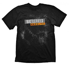 Battlefield Hardline Logo Black T-Shirt - L Clothing