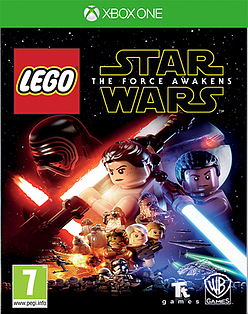 LEGO Star Wars: The Force Awakens XBOX ONE Cover Art
