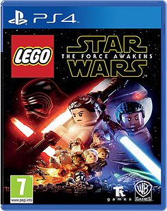 LEGO Star Wars: The Force Awakens PS4 Cover Art