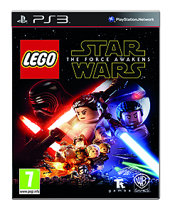 LEGO Star Wars: The Force Awakens PS3 Cover Art