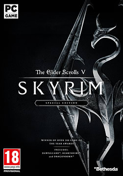 Skyrim Special Edition PC Downloads Cover Art