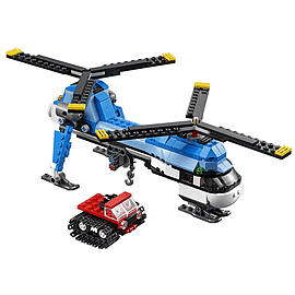 Lego Creator Twin Spin Helicopter Blocks and Bricks