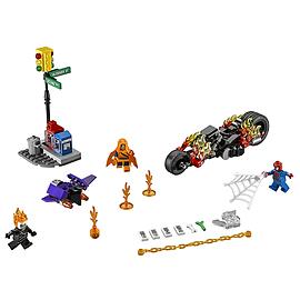 Lego Super Heroes Spider-Man Ghost Rider Team-up Blocks and Bricks