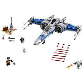 Lego Star Wars Resistance X-Wing Fighter Blocks and Bricks