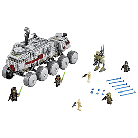 Lego Star Wars Vader's Clone Turbo Tank Blocks and Bricks