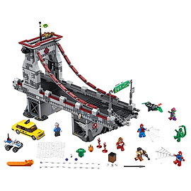 Lego Super Heroes Spider-Man Web Warriors Ultimate Bridge Battle Blocks and Bricks