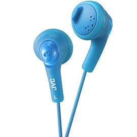 JVC GUMY In-Ear Audio Headphones for iPod, iPhone, MP3 and Smartphone - Blue Multi Format and Universal
