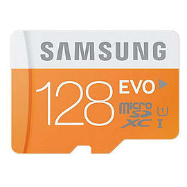 Samsung 128GB EVO Micro SDXC Class 10 UHS Flash Card + Adapter. Multi Format and Universal