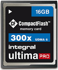 Integral 16GB 300x Speed Ultima Pro Compact Flash Card. Multi Format and Universal