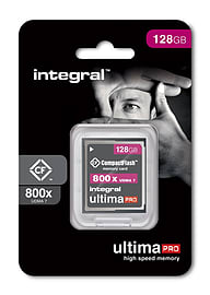 Integral 128GB High Speed 800X Ultima-Pro UDMA 7 Compact Flash. Multi Format and Universal