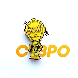C3PO (Star Wars) Minis 3D Light Home - Accessories
