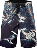 Swimwear: Star Wars Space Shorts - Size: XXL screen shot 1