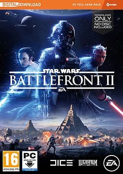Star Wars: Battlefront II PC Cover Art