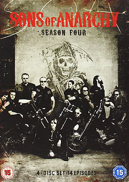 Sons Of Anarchy: Series 4 DVD DVD