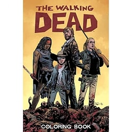 Walking Dead Adult Coloring Book Books