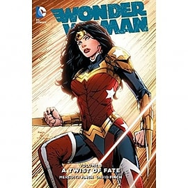 Wonder Woman Volume 8: Twist Of Fate Hardcover Books