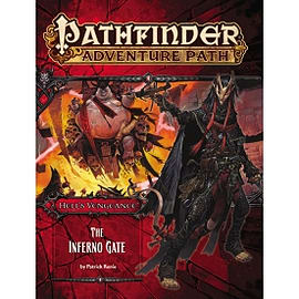 Pathfinder Adventure Path #105: The Inferno Gate Hell's Vengeance 3 of 6 Books