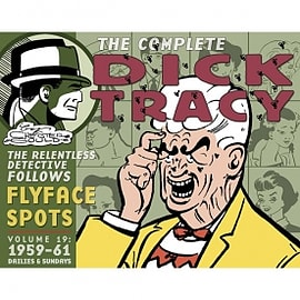 Complete Chester Gould's Dick Tracy Volume 19 Hardcover Books