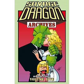 Savage Dragon Archives Volume 5 Books
