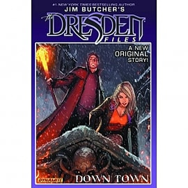 Jim Butcher's Dresden Files Down Town Hardcover Books