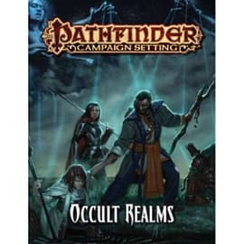 Pathfinder Campaign Setting Occult Realms Books