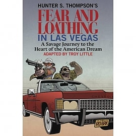 Hunter S. Thompson's Fear and Loathing in Las Vegas Hardcover Books
