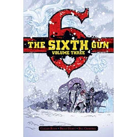The Sixth Gun Deluxe Edition Hardcover Books