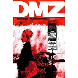 DMZ Book 5 Deluxe Edition Hardcover Books