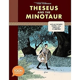 Theseus and the Minotaur Toon Series Books