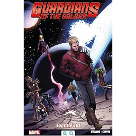 Guardians of the Galaxy Volume 5 Through The Looking Glass Books