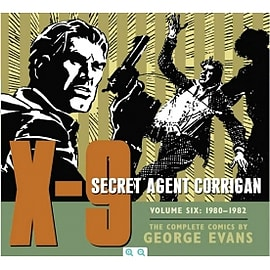 X-9 Secret Agent Corrigan Volume 6 Books