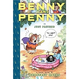 Benny and Penny in Just Pretend Toon Books Level 2 Hardcover Books