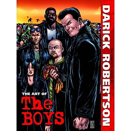 The Art of The Boys The Complete Covers by Darick Robertson Hardcover Books