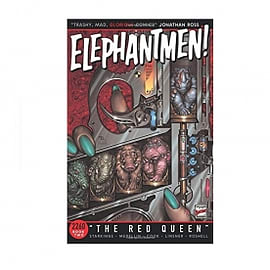 Elephantmen 2260 Volume 2 The Red Queen Paperback Books
