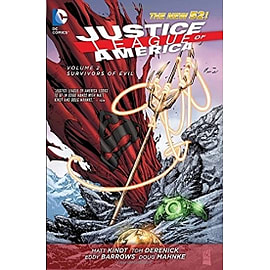 Justice League of America Volume 2 Survivors of Evil Hardcover New 52 Books
