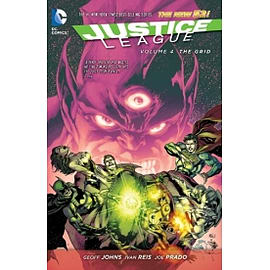 Justice League Volume 4 The Grid TP The New 52 Paperback Books