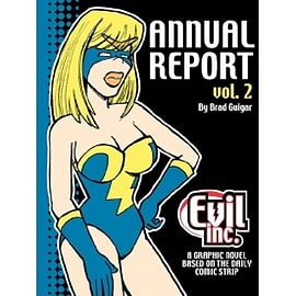 Evil Inc Annual Report Volume 2 Paperback Books