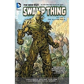 Swamp Thing Volume 5 The Killing Field Paperback Books